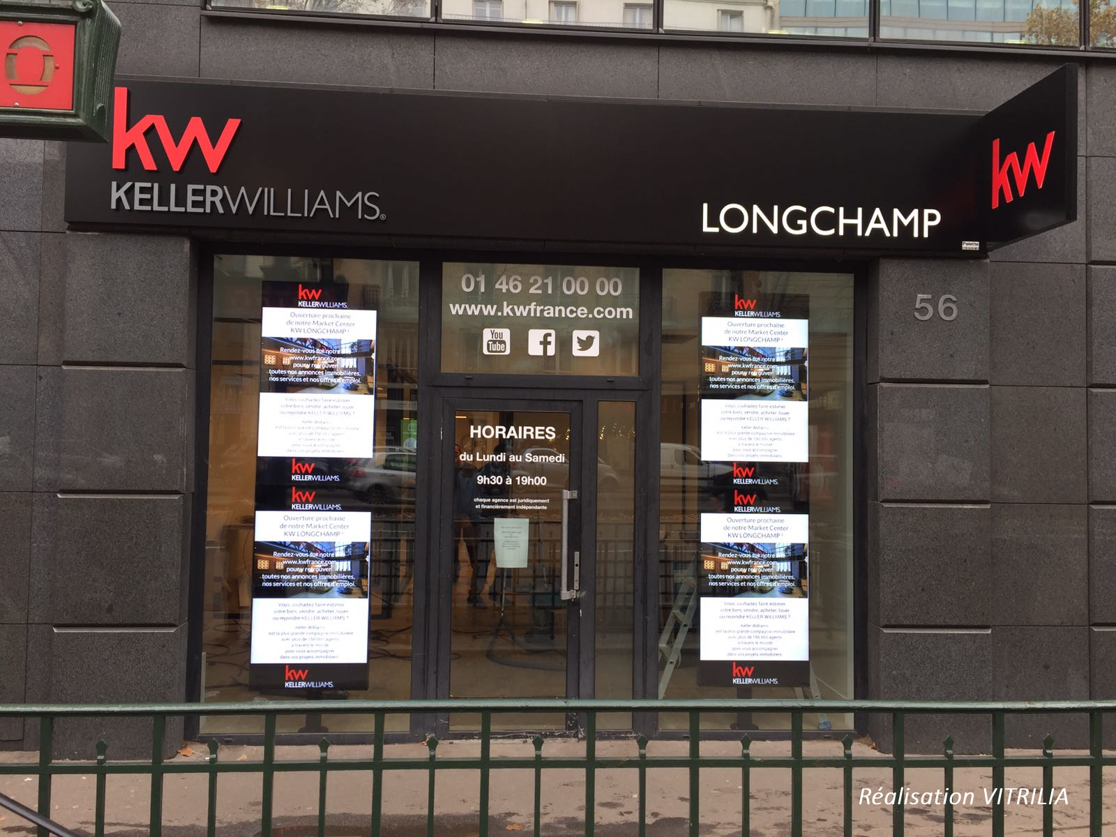 KELLER WILLIAMS arrive en France et choisit VITRILIA !